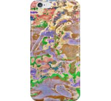 Swirls and Whirls All Scattered iPhone Case/Skin