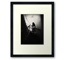 A Ghost Between Us Framed Print