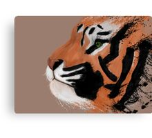 Tiger Paint  Canvas Print