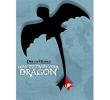 How to Train your Dragon Poster Photographic Print