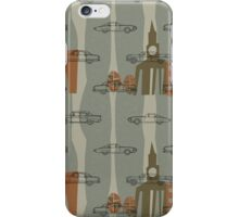 1950s Car Pattern - Version No.2 iPhone Case/Skin