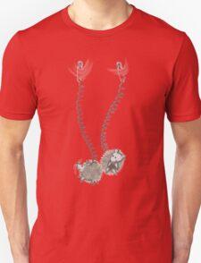 Hedgehogs do a swing Unisex T-Shirt