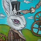 """Time Flies for the White Rabbit"" by Jaz by Jaz Higgins"
