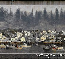"""Stonington In Texture"" by Don  Powers"