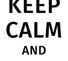 keep calm and study psychology Sticker