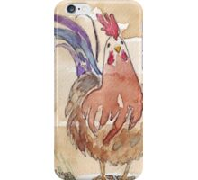 Happy birthday to a Chook-lover! iPhone Case/Skin