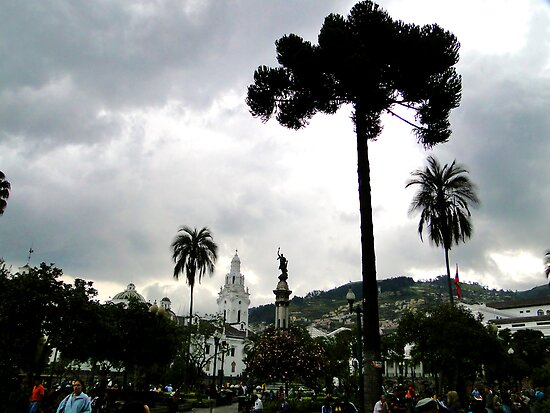 Plaza Grande, Quito, Ecuador by Al Bourassa
