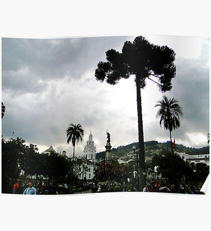 Plaza Grande, Quito, Ecuador Poster