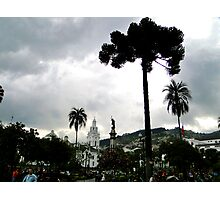 Plaza Grande, Quito, Ecuador Photographic Print
