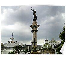 Quito, Ecuador Cathedral Poster