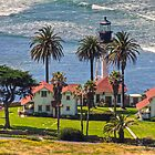 Point Loma Lighthouse by Cheryl  Lunde