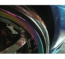 multi-colored wheel Photographic Print