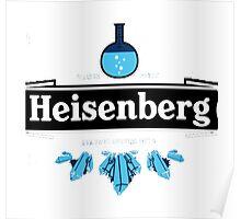 Heisenberg (Heineken parody) Breaking Bad Poster