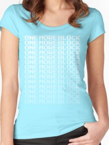 One More Block - Can't Stop Mining T Shirt Women's Fitted Scoop T-Shirt