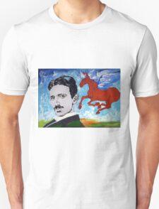 Tesla Knows Unisex T-Shirt