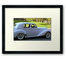 1952 Bentley - A Classic    ^ Framed Print