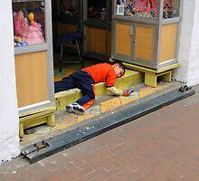 Quito Store Greeter by Al Bourassa
