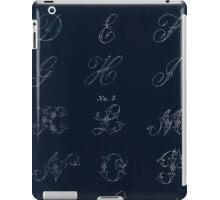 Briggs & Company Patent Transferring Papers Kate Greenaway 1886 0209 Inverted iPad Case/Skin