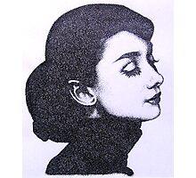 audrey's elegance Photographic Print
