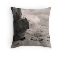 brrrr....frickn' Cold! Throw Pillow
