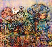 Rainbow Warriors of Bubblegum Bay by © Karin Taylor