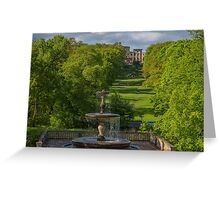Germany. Potsdam. Sanssouci Park. Greeting Card