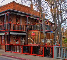 House of Joy in HDR (Jerome, AZ) by Barb White