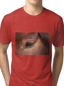 The Eyes say it All (Pam) - NNEP Ottawa, ON Tri-blend T-Shirt