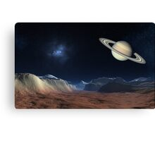 History of Titan Canvas Print