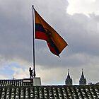 Quito, Ecuador Flag Lowering by Al Bourassa