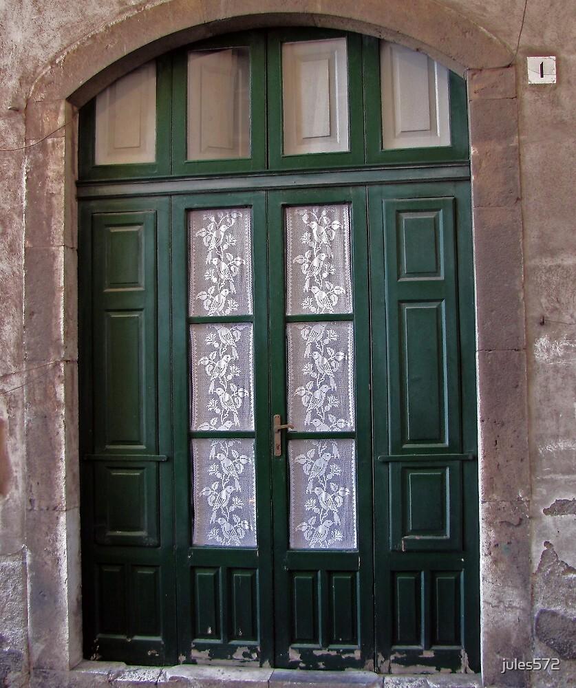 Italian Lace Curtains - Taormina, Sicily by jules572