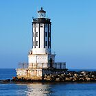 Angels Gate Lighthouse by Walt Conklin