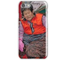 Fishmonger iPhone Case/Skin