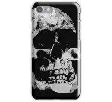Grunge Cool Skull iPhone Case/Skin