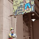 The Puppet Maker, The Rocks, Sydney by Adrian Paul