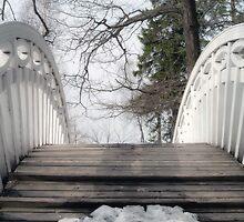 The white openwork bridge in park Monrepo by Tasha1111
