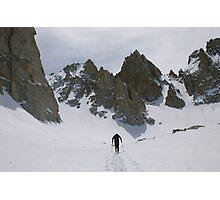 Approaching Matterhorn Peak, CA Photographic Print