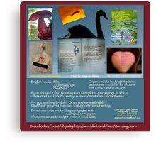 http://www.blurb.co.uk/b/2465070-fifty#author-bookshelf Canvas Print
