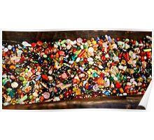 Beads Bowl Poster