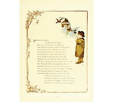 Old Proverbs with New Pictures Lizzie Laweson and Clara Mateaux 1881 0023 Peregrine Pickle Photographic Print