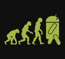 Android Evolution Kids Tee
