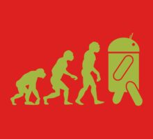 Android Evolution Baby Tee