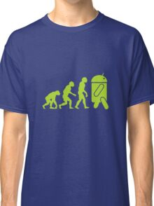 Android Evolution Classic T-Shirt