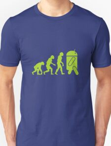 Android Evolution Unisex T-Shirt