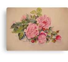 Roses and more roses Canvas Print
