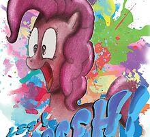 Pinkie Pie SPLAT PARTEH! by Turoksar