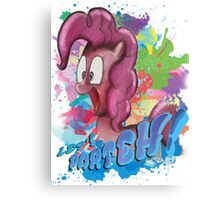Pinkie Pie SPLAT PARTEH! Canvas Print