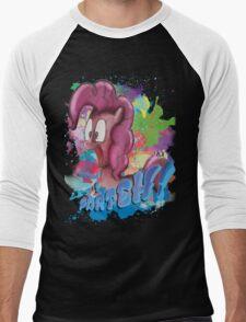 Pinkie Pie SPLAT PARTEH! Men's Baseball ¾ T-Shirt