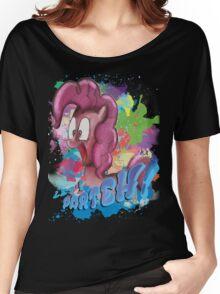 Pinkie Pie SPLAT PARTEH! Women's Relaxed Fit T-Shirt