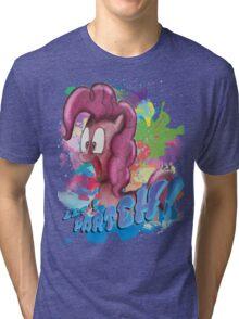 Pinkie Pie SPLAT PARTEH! Tri-blend T-Shirt